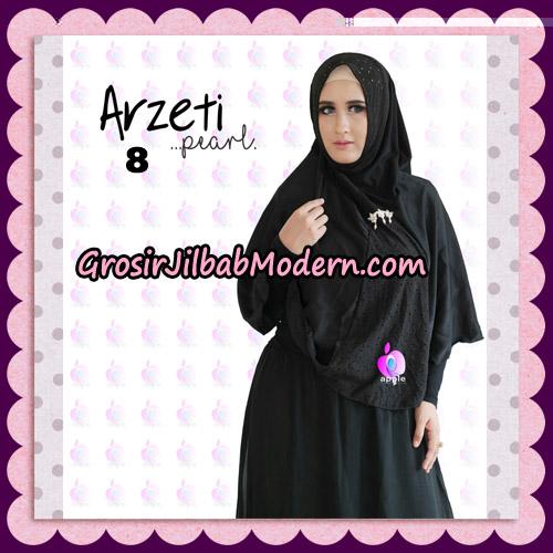 Jilbab Instant Arzeti Pearl Original By Apple Hijab Brand No 8