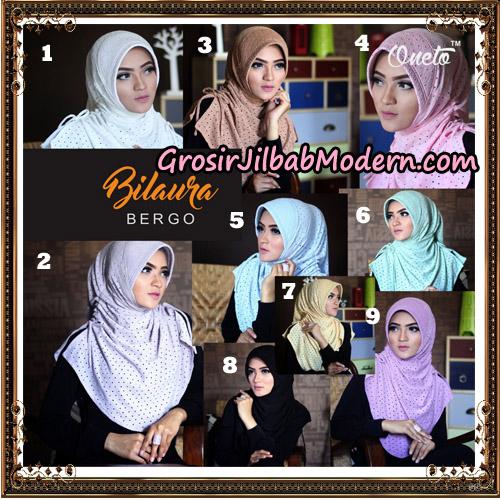 Jilbab Instant Bilaura Bergo Original By Oneto Hijab Brand