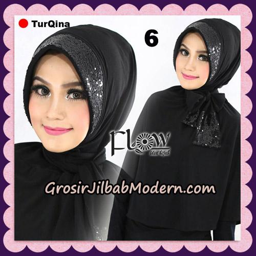 Jilbab Instant Cantik TurQina Original By Flow Idea NO 6