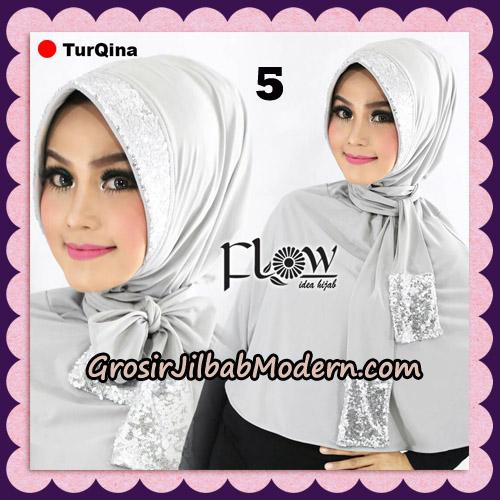 Jilbab Instant Cantik TurQina Original By Flow Idea No 5