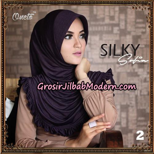 Jilbab Instant Sofia Silky Original By Oneto Hijab Brand No 2