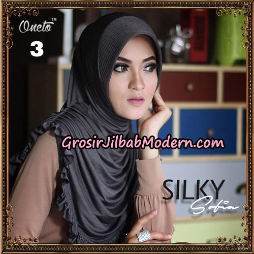 Jilbab Instant Sofia Silky Original By Oneto Hijab Brand No 3