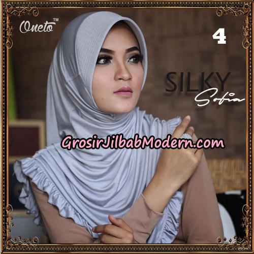 Jilbab Instant Sofia Silky Original By Oneto Hijab Brand No 4