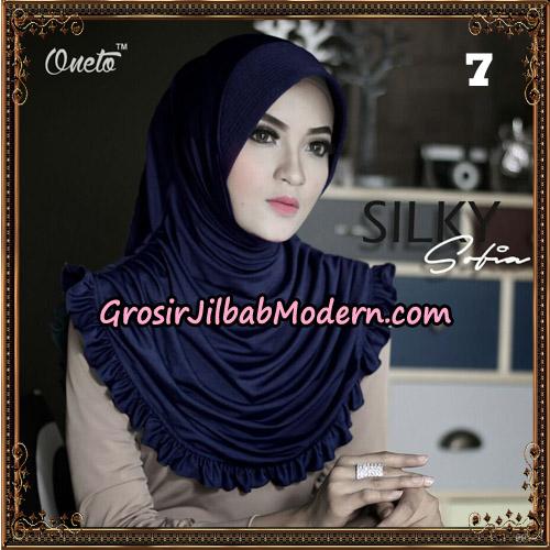 Jilbab Instant Sofia Silky Original By Oneto Hijab Brand No 7