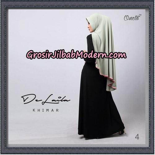 Jilbab Khimar DeLaila Original By Oneto Hijab Brand No 4