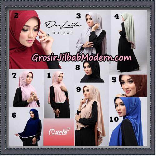 Jilbab Khimar DeLaila Original By Oneto Hijab Brand