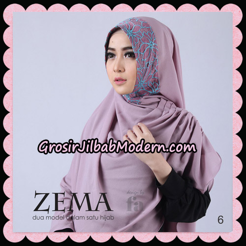 Jilbab Khimar Zema By Fa Hijab Support Oneto Hijab No 6
