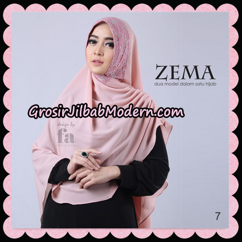 Jilbab Khimar Zema By Fa Hijab Support Oneto Hijab No 7