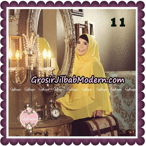 Jilbab Syari Modern Khimar Uzma Original by Qalisya Hijab Brand No 11