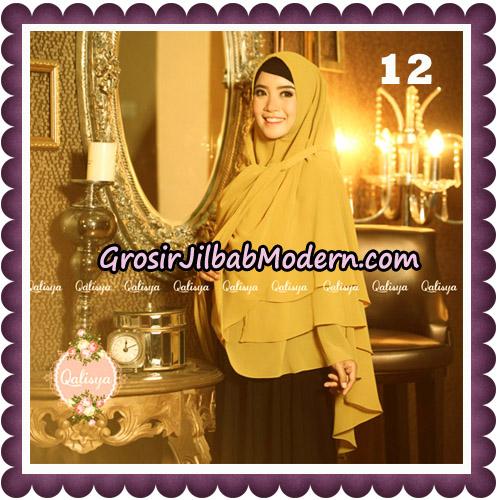 Jilbab Syari Modern Khimar Uzma Original by Qalisya Hijab Brand No 12