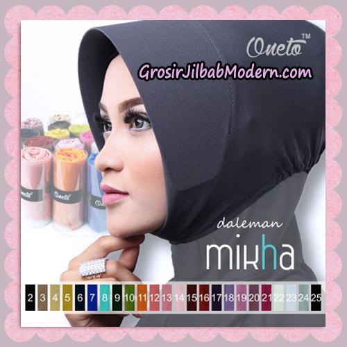 Inner Jilbab Mika Polos Original By Oneto Hijab Brand