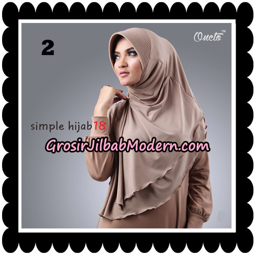 Jilbab Bergo Simple Hijab Seri 18 By Firza Hijab Support Oneto No 2