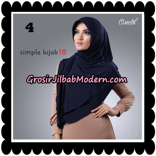Jilbab Bergo Simple Hijab Seri 18 By Firza Hijab Support Oneto No 4