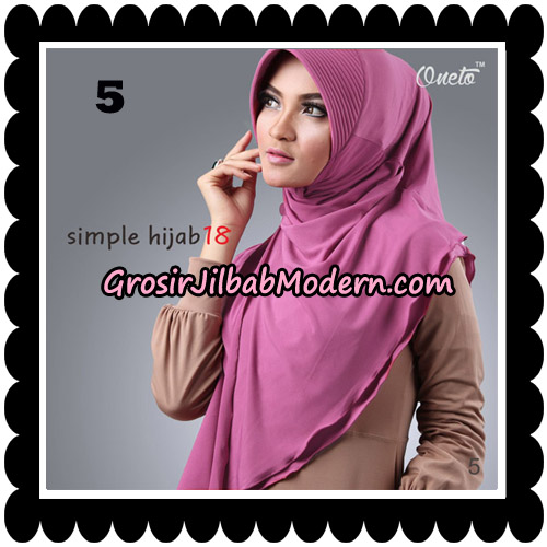 Jilbab Bergo Simple Hijab Seri 18 By Firza Hijab Support Oneto No 5