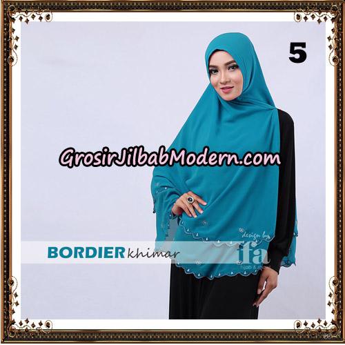 Jilbab Cantik Bordier Khimar Original By Fa Hijab Brand No 5