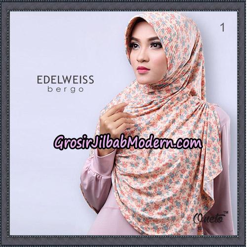 Jilbab Cantik Edelweiss Bergo Original By Oneto Hijab Brand No 1