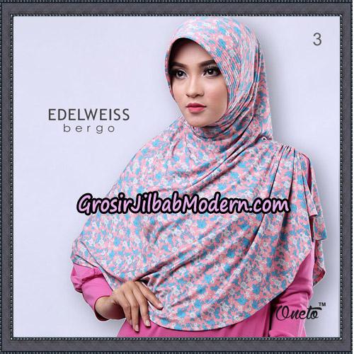 Jilbab Cantik Edelweiss Bergo Original By Oneto Hijab Brand No 3