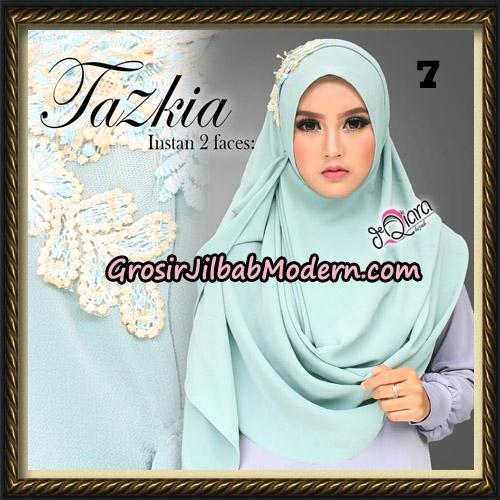 Jilbab Cantik Instan 2 Face Tazkia Original By dQiara Hijab Brand No 7