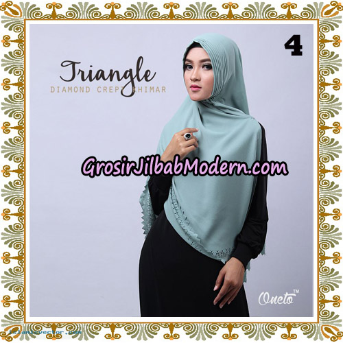 Jilbab Cantik Khimar Lipit Triangle Original By Oneto Hijab Brand NO 4