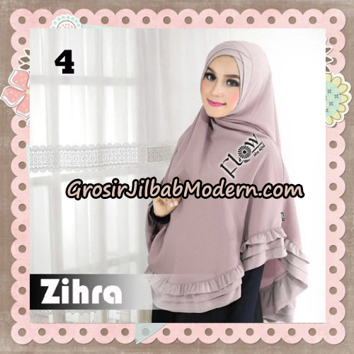Jilbab Cantik Khimar Silang Zihra Original By Flow Idea No 4