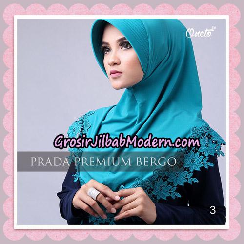 Jilbab Cantik Prada Premium Bergo Original By Oneto Hijab Brand No 3