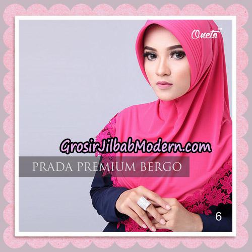 Jilbab Cantik Prada Premium Bergo Original By Oneto Hijab Brand No 6
