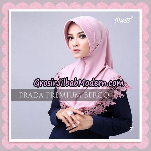 Jilbab Cantik Prada Premium Bergo Original By Oneto Hijab Brand No 7