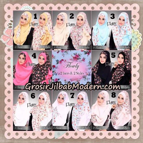 Jilbab Instant 2 Face & 2 Styles Flowly Original By Flow Idea