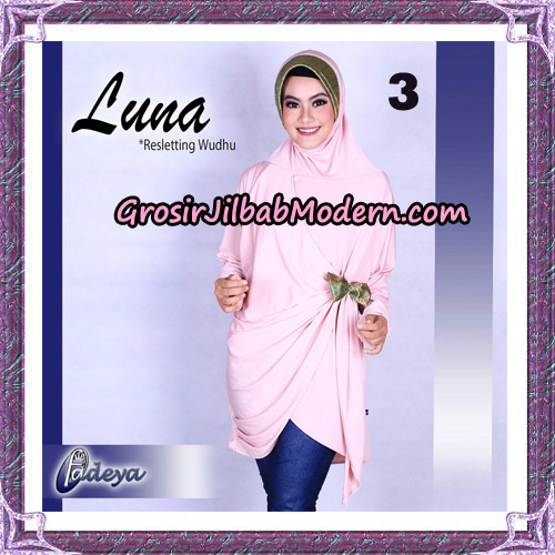 Jilbab Lengan Tunik Luna Original By Fadeya Brand No 3