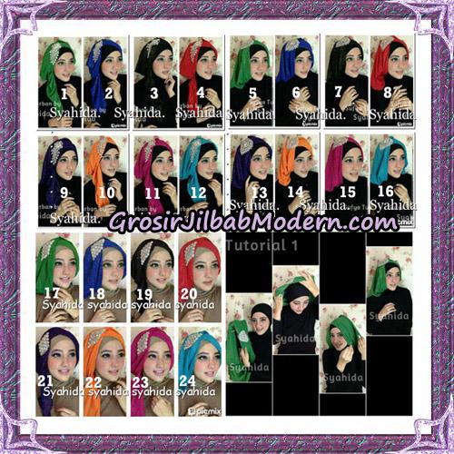 Turban Pesta Instant Sufya Original By Syahida Hijab Brand