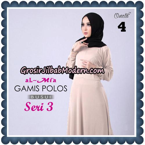 Gamis Polos Busui Seri 3 Original By AlMia Brand No 4