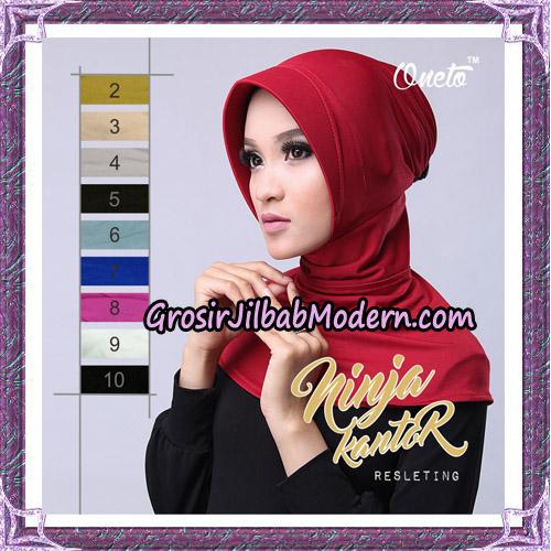 Inner Jilbab Ninja Kantor Original By Oneto Hijab Brand
