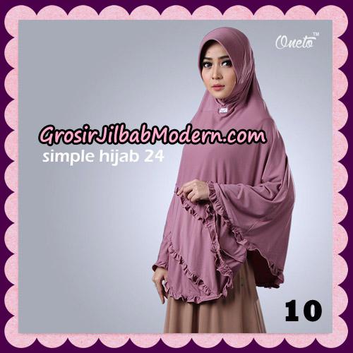 Jilbab Bergo Simple Hijab Seri 24 Original By Firza Hijab Brand NO 10