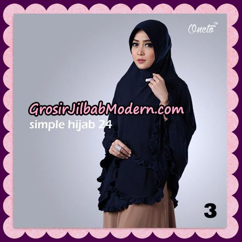 Jilbab Bergo Simple Hijab Seri 24 Original By Firza Hijab Brand NO 3