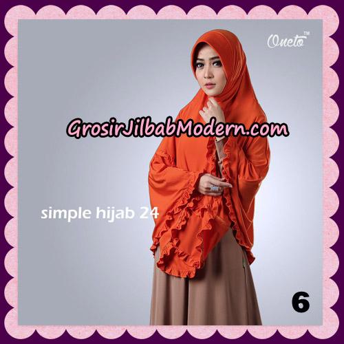 Jilbab Bergo Simple Hijab Seri 24 Original By Firza Hijab Brand NO 6