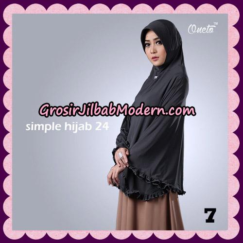 Jilbab Bergo Simple Hijab Seri 24 Original By Firza Hijab Brand NO 7