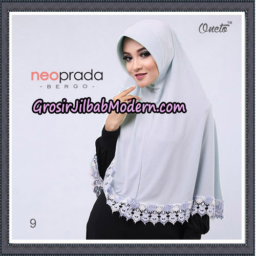 Jilbab Cantik NeoPrada Bergo Original By Oneto Hijab Brand NO 9