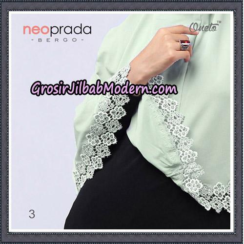 Jilbab Cantik NeoPrada Bergo Original By Oneto Hijab Brand No 3