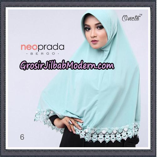 Jilbab Cantik NeoPrada Bergo Original By Oneto Hijab Brand No 6