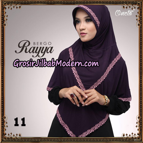 Jilbab Instant Bergo Rayya Original By Oneto Hijab Brand No 11