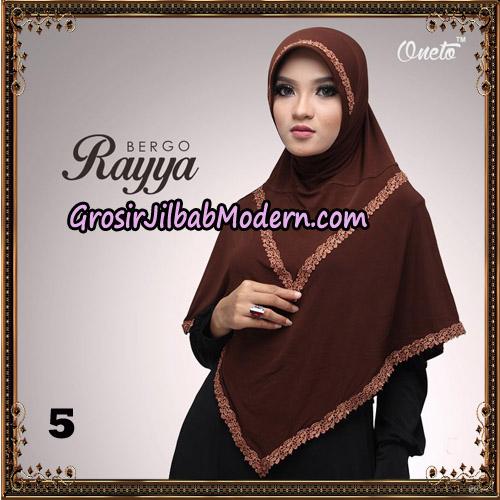 Jilbab Instant Bergo Rayya Original By Oneto Hijab Brand No 5