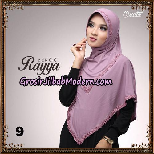 Jilbab Instant Bergo Rayya Original By Oneto Hijab Brand No 9