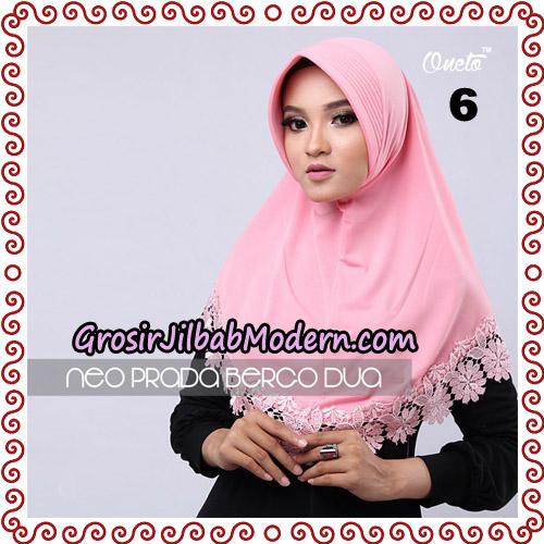 Jilbab Instant NeoPrada Bergo Dua Original By Oneto Hijab Brand No 6
