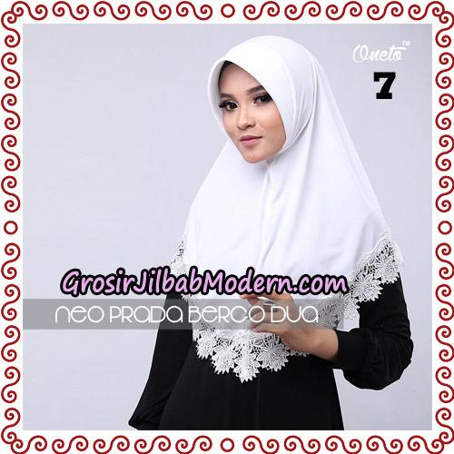 Jilbab Instant NeoPrada Bergo Dua Original By Oneto Hijab Brand No 7