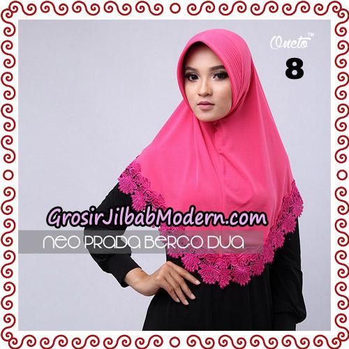 Jilbab Instant NeoPrada Bergo Dua Original By Oneto Hijab Brand No 8