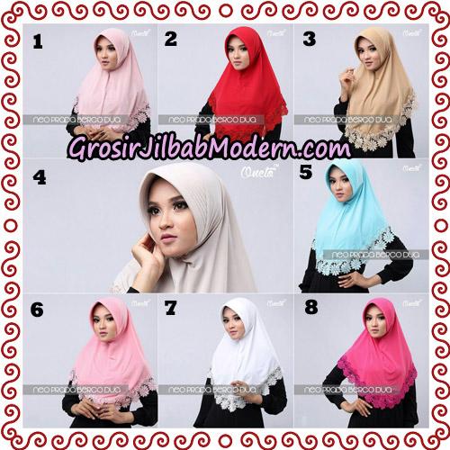 Jilbab Instant NeoPrada Bergo Dua Original By Oneto Hijab Brand