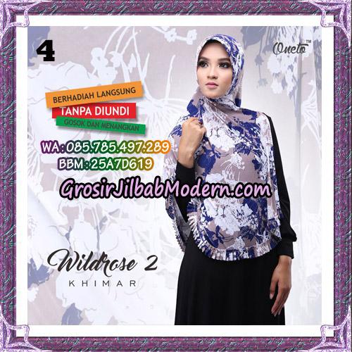 Jilbab Instant Wildrose Seri 2 Original By Oneto Hijab Brand NO 4