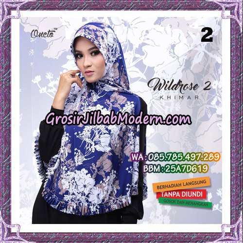 Jilbab Instant Wildrose Seri 2 Original By Oneto Hijab Brand No 2