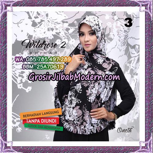 Jilbab Instant Wildrose Seri 2 Original By Oneto Hijab Brand No 3