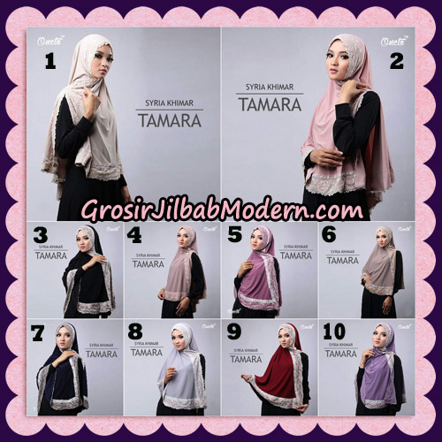 Jilbab Syari Cantik Khimar Tamara Support Oneto